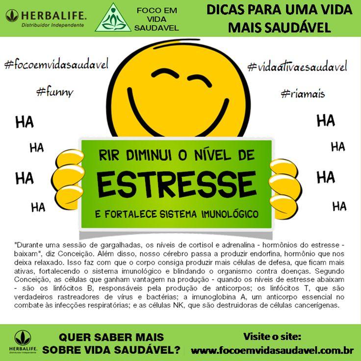 Rir diminui o nivel de stress e fortalece o sistema imunológico…