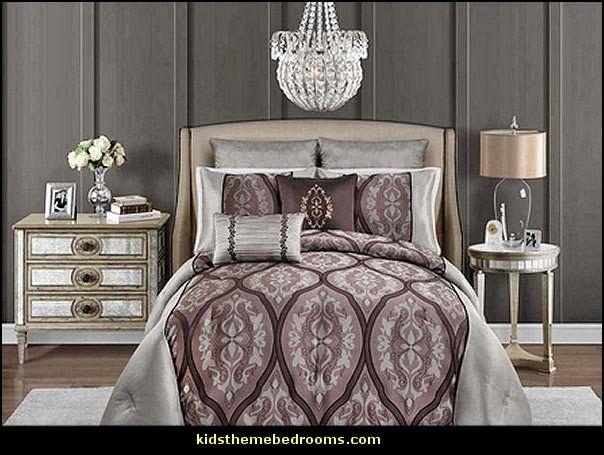 Glamorous Bedroom Hollywood glam themed bedroom ideas ...