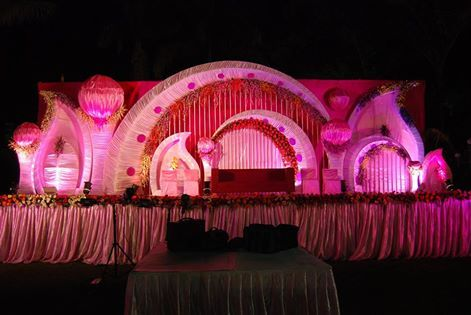 Beautiful Ball Setup Stage for one of our clients Bharat Kiraya Bhandar #ClientDiaries #Events