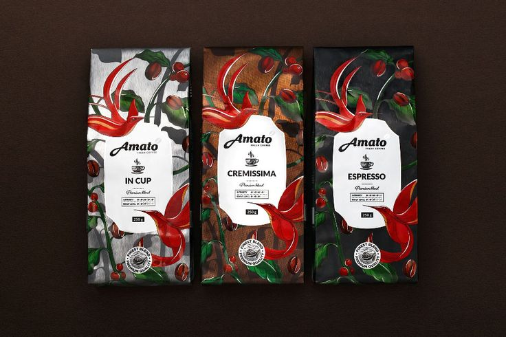 coffee design packaging by Fabula Branding