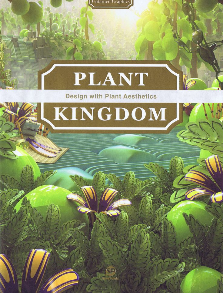 Plant Kingdom - Design with Plant Aesthetics bog fra Viking og Creas