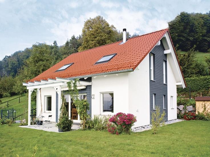 Musterhaus einfamilienhaus  33 best Einfamilienhaus images on Pinterest | Architecture, Live ...