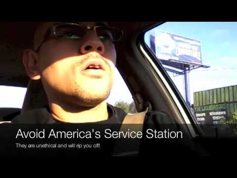 https://www.youtube.com/watch?v=Bb7QZPiWkk0  Auto repair woodstock ga  If you live in Woodstock GA and are looking for places to get an oil change or get automotive repairs done, DO NOT go to America's Service Station on Eagle Drive.