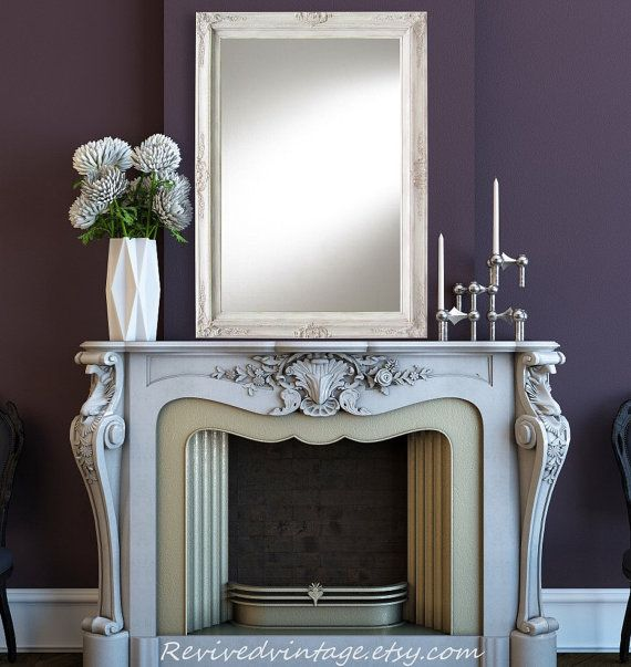 LARGE MANTEL MIRRORS For Sale AnY CoLOR Large By RevivedVintage