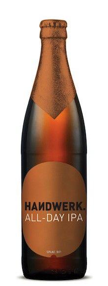 Cerveja Handwerk All-Day IPA, estilo India Pale Ale (IPA), produzida por Collective São Gabriel, África do Sul. 5.5% ABV de álcool.