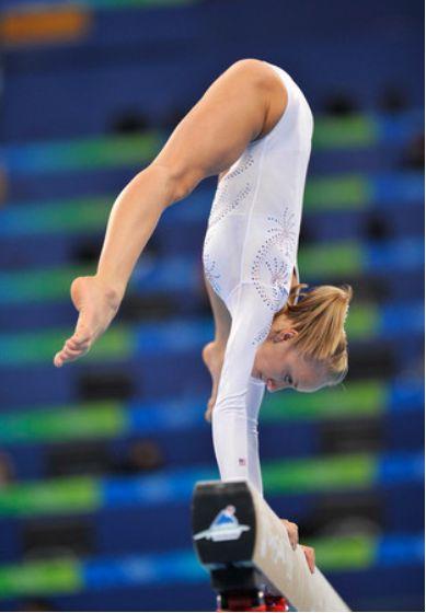 Nastia Liukin (USA) 2008 Olympic Games: Balance Beam Final