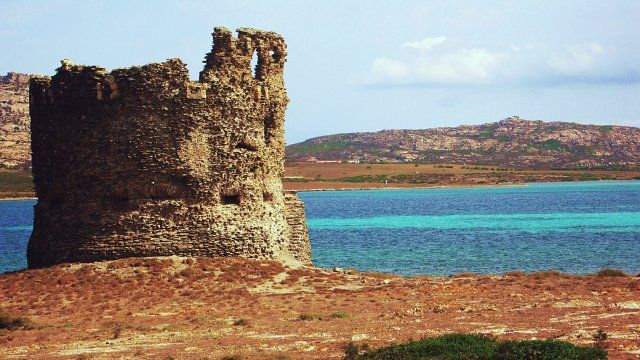 PORTO TORRES, torre dell'Isola Piana- tower of Piana's Island