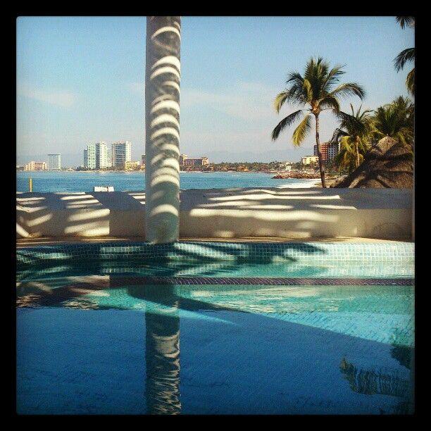 Buenaventura Hotel, #PuertoVallarta #Beach #Spa #Palms Photo by aguasrey