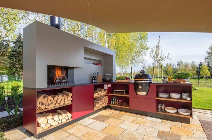 Die perfekte Outdoor-Küche für den Sommer #News # … – #indoordesign #Kitchen #News #Outdoor