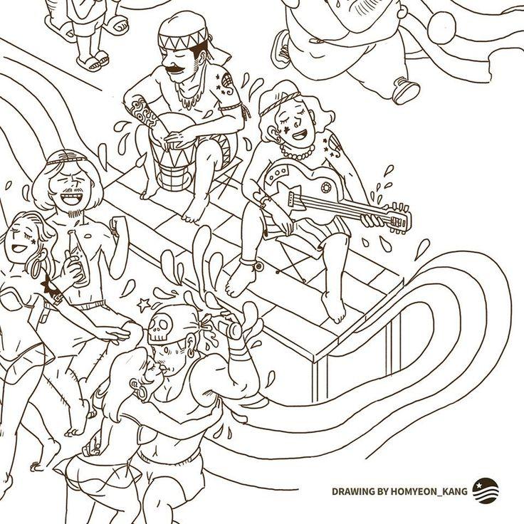 #drawing #cartoon  #illust #illustrator #kanghomyeon  #newyork #design #designer #iwantmiracle #riverandstar #art #artist #만화 #그림작가 #일러스트레이터 #사랑 #이야기 #카툰 #디자이너 #그림 #작가 #예술