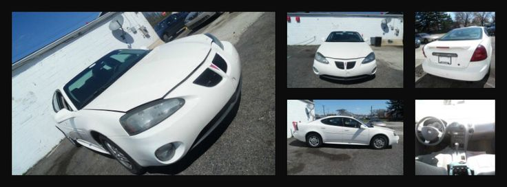 2004 White Pontiac Grandprix Visit our website at www.dgmotorwerks.com
