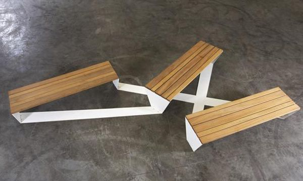 The Ensemble Bench Was Created By Roel Vandebeek For The
