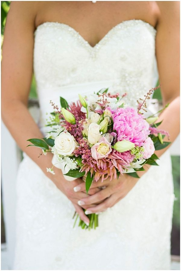 Pink Summer Wedding from The Budget Savvy Bride