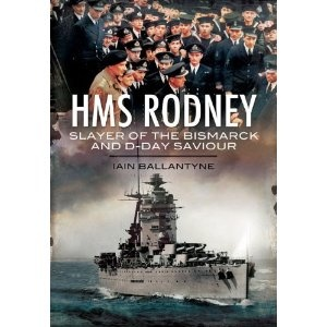 Debating getting this. There was an earlier book on HMS Rodney that I missed. A ship that always appealed to me. HMS Rodney: Slayer of the Bismarck and D-Day Saviour