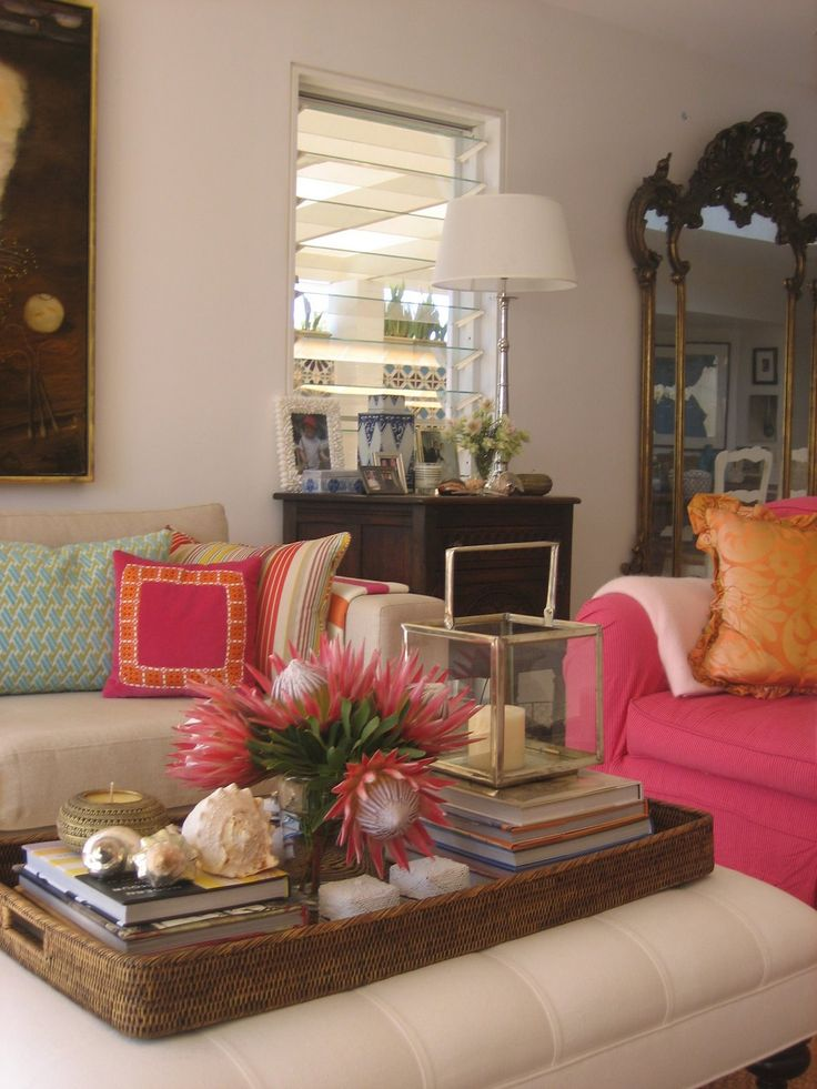 Coffee Table Styling Design