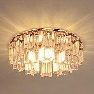 Moderne / Nutidig / Traditionel / Klassisk / Rustikk/ Hytte / Tiffany / Vintage / Kontor / Bedrift / Lanterne / Rustikk Krystall / LED – NOK kr. 463