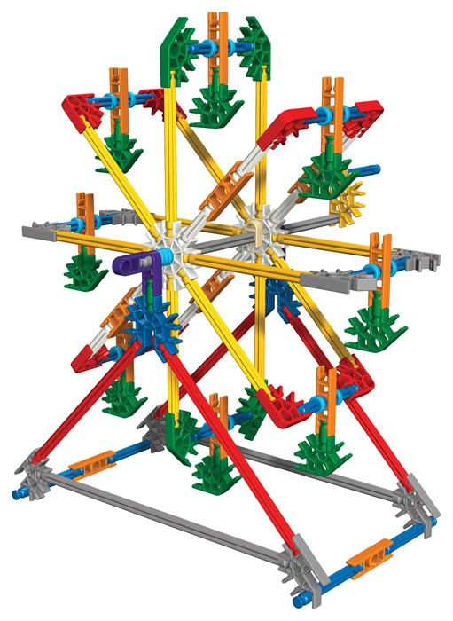 K'NEX User Group - Classic K'NEX 30-model building set