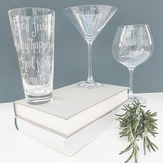 Dartington Gin Glass Personalised