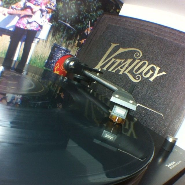 #vitalogy #vinyl #pearljam @pearljamofficial
