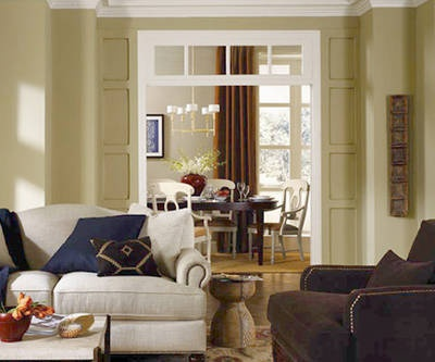 Chic And Contemporary Color Schemes For The Living Room