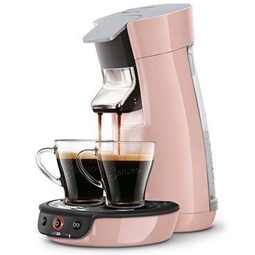 Machine à café SENSEO Viva Café couleur rose poudré