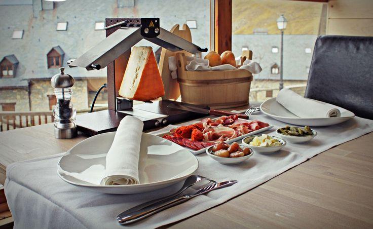 La Racletterie, el restaurante de Rafaelhoteles La Pleta, ofrece una variada gastronomía