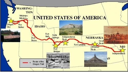 many had travelled the oregon trail to find their american dream Oregon trail: oregon trail interest in the east for the oregon country had begun to grow many lost their lives on this final leg of the trip.