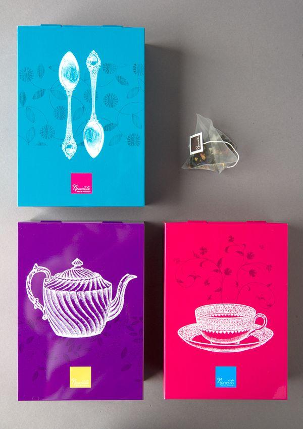 Tea packaging by www.o-zone.it