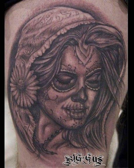 Tattoo Sugar Skull Girl Tattoo1 Tattoo2