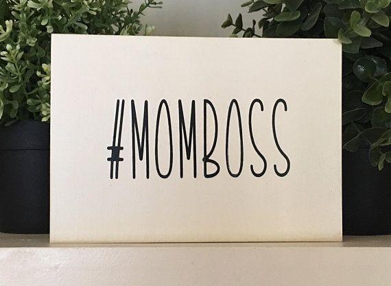 Mom Boss Momboss Hashtag Momboss Mothers Day Gifts