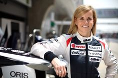 women race car drivers | Williams development driver Susie Wolff has a real chance of racing in ...