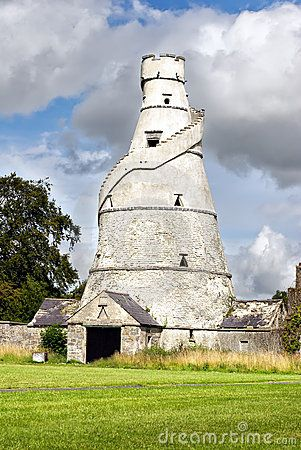 The Wonderful Barn - is a corkscrew-shaped barn built with the stairs ascending around the exterior of the building.   ..rh