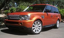 Dream car #1: a Range Rover Sport. I <3 this color because to me, it says War Eagle.