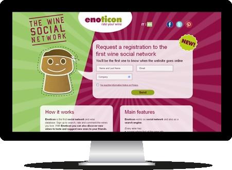 Siamo molto orgogliosi di questo lavoro!  Enoticon è il social network che parla esclusivamente di vino, ti consigliamo di registrarti quanto prima e lasciare il tuo commento! http://www.enoticon.com/