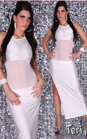 TERI Dlouhé dámské šaty, společenské šaty, plesové šaty