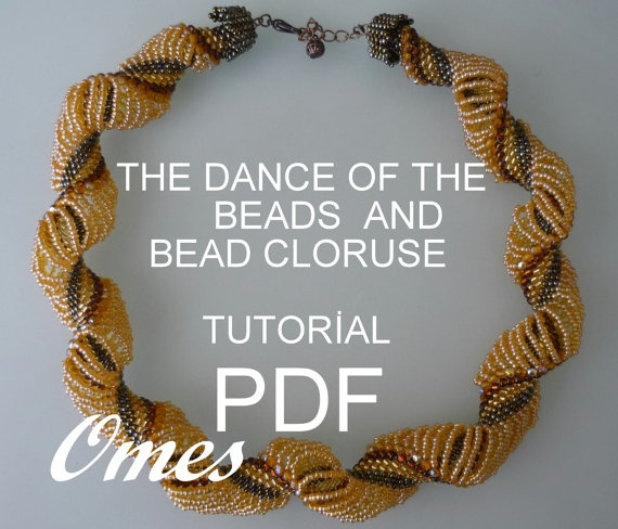 The dance of the beads TUTORIAL by omes37 on Etsy, $10.00