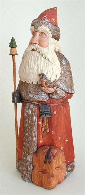 Best christmas wood carving images on pinterest