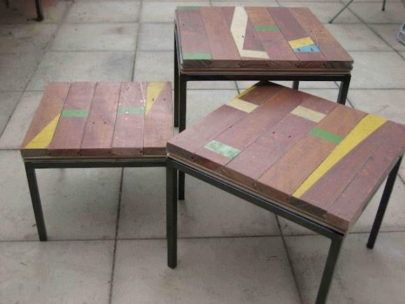 Ikea v recycled basketball flooring creative ideas for Recycled flooring ideas