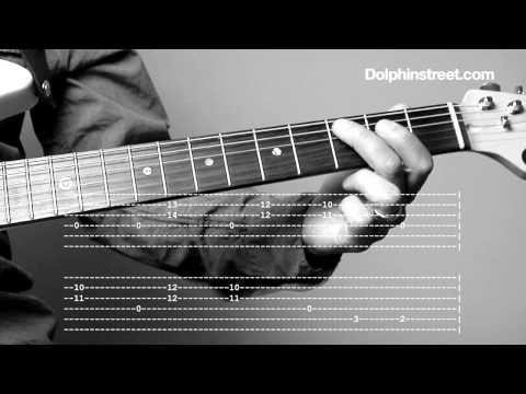 """▶ Blues Guitar Lesson - Shuffle Rhythm & Chords """"Fill It"""" - YouTube"""