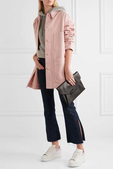 Pastel-pink denim Button fastenings through front 100% cotton  Machine wash Designer color: Ballerina Made in Italy