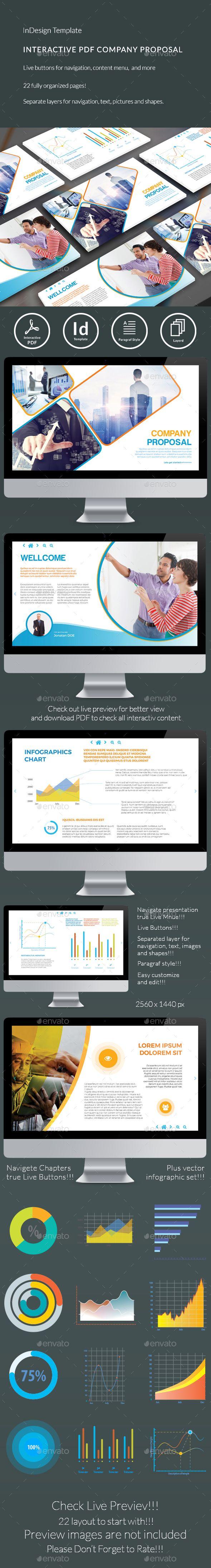 Interactive Company Proposal 120 best e publishing Templates