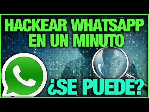 HACKEAR WHATSAPP sólo con el número, sin el celular de la otra persona ¿Es posible? - YouTube