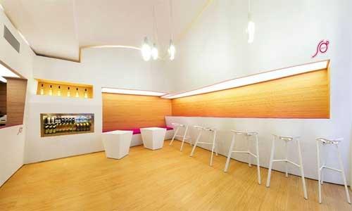 Modern Cafe Bar White Chandelier