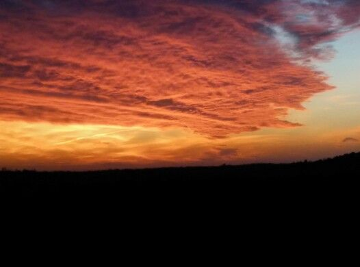 Un bel tramonto