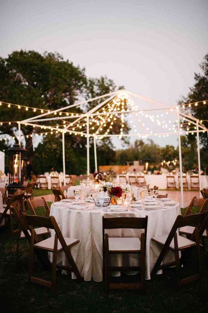 Beautiful Nature-Filled California Wedding from Acres of Hope Photography - wedding reception idea