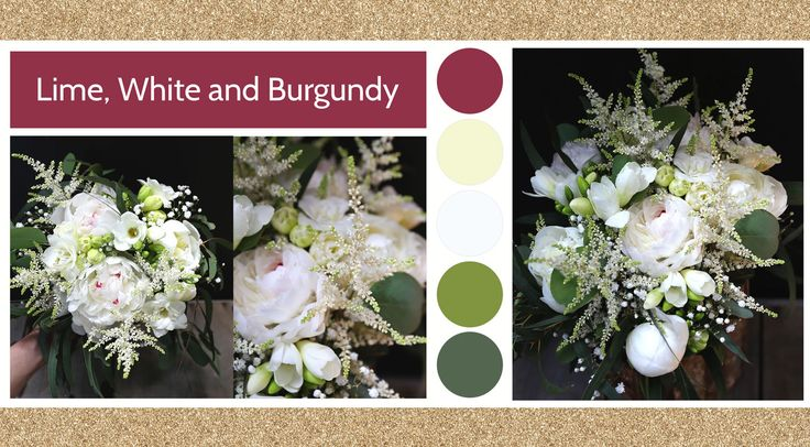 Line, White & Burgundy style board by Le Bouquet Weddings | Le Bouquet St-Laurent Florist