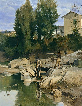 Odoardo Borrani - Many Macchiaioli died poor, only achieving fame late in the 19th century. Today their work is better known in Italy and mostly held there.