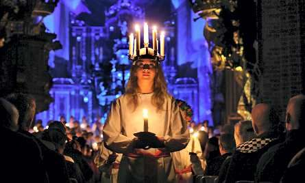 Saint Lucia's Day: 13 December - Church Feast Day | saint lucy s day sankta lucia also known as saint lucia s day