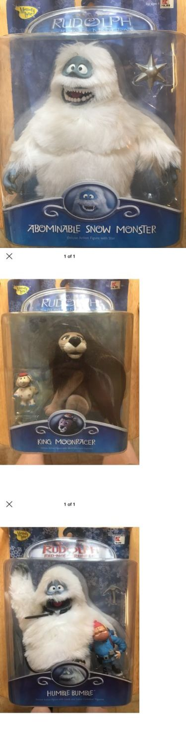 Rudolph 95252: Rudolph Figures - Abominable Snow Monster ,Humble Bumble, King Moonracer -> BUY IT NOW ONLY: $130 on eBay!