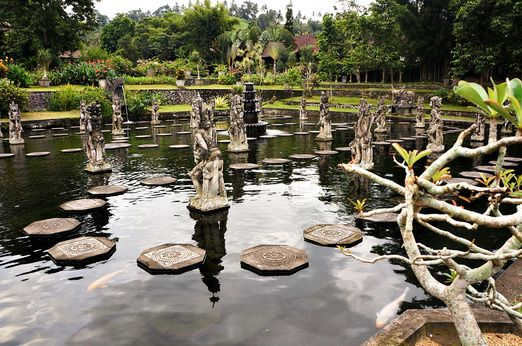 Tirta Gangga: Built in a lush area surrounded by green hills and terraced rice fields, Tirta Gangga is a water park loca...